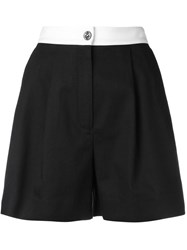 Dolce And Gabbana High Waist Shorts Black