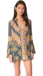 Free People Magic Mystery Tunic Navy