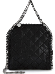 Stella Mccartney 'Falabella' Quilted Tote Black