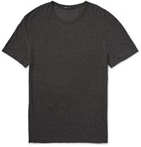 T By Alexander Wang Slub Jersey T Shirt Charcoal