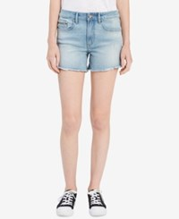 Calvin Klein Jeans Cutoff Denim Shorts Roxy Blue