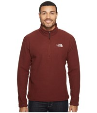 The North Face Sds 1 2 Zip Pullover Sequoia Red Men's Long Sleeve Pullover Brown