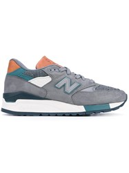 New Balance 998 Sneakers Women Leather 8.5 Grey