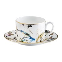 Roberto Cavalli Garden Birds Teacup And Saucer
