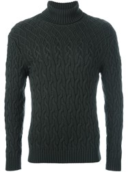 Etro Turtleneck Jumper Green