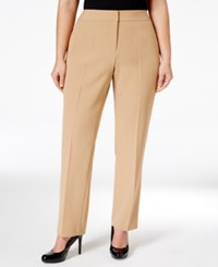 Nine West Plus Size Straight Leg Trousers