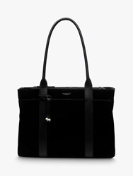 Radley Maples Place Leather Tote Bag Black