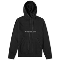 Unravel Project Fuck Lines Hoody Black