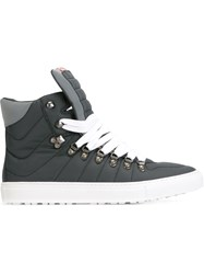 Dsquared2 Padded Hi Top Sneakers Grey