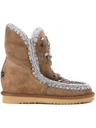 Mou 'Eskimo Inner Wedge' Boots Brown