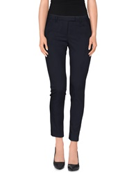 Soallure Casual Pants Dark Blue
