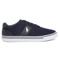Polo Ralph Lauren Navy Hanford Canvas Sneakers