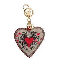Gucci Heart Keyring Female Red