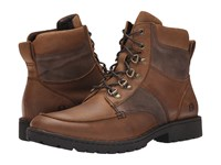 Born Reeves Russet Taupe Men's Lace Up Boots Brown