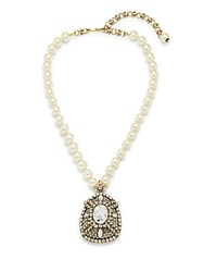 Heidi Daus Sunday Best Crystal Necklace No Color