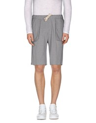 Mauro Grifoni Trousers Bermuda Shorts Men Grey