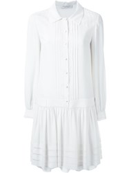 Philosophy Di Lorenzo Serafini Pleated Shirt Dress White