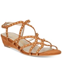Anne Klein Mallory Dress Sandals Brown