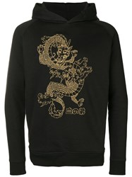 Blood Brother Watatsumi Embroidered Hoodie Black