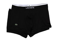 Lacoste Colours 2 Pack Trunk Black Men's Underwear