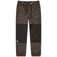 Flagstuff Leopard Easy Pant Black