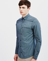 Vito Glam Lay Shirt Blue