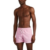 Danward Striped Swim Trunks Pink