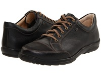 Finn Comfort Alamo 1288 Black Men's Lace Up Casual Shoes