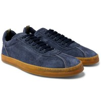 Officine Creative Karma Suede Sneakers Navy