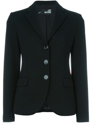 Love Moschino Fitted Blazer Black