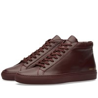 Common Projects Original Achilles Mid Burgundy