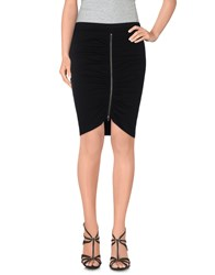 Pam And Gela Skirts Knee Length Skirts Women Black