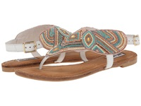 Not Rated Mariachi White Women's Sandals
