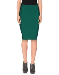 Siyu Skirts Knee Length Skirts Women Green