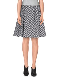 Gianfranco Ferre Gf Ferre' Skirts Knee Length Skirts Women Black
