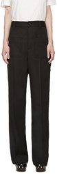 Marc Jacobs Black Wide Leg Trousers