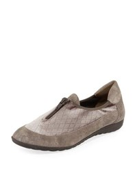 Sesto Meucci Besie Quilted Comfort Flat Taupe