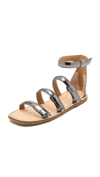 Marc By Marc Jacobs Seditionary Flat Sandals Gunmetal