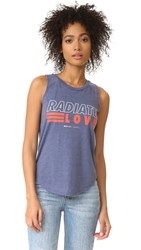 Spiritual Gangster Radiate Love Muscle Tank Midnight