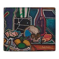 Paul Smith Multicolor Artist Studio Bifold Wallet
