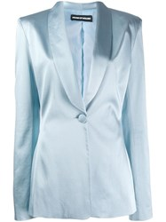 House Of Holland Classic Single Breasted Blazer Blue