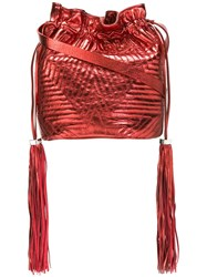 Golden Goose Deluxe Brand Estella Crossbody Bag Red