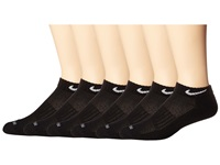 Nike Dri Fit Low Cut 6 Pair Pack Black White Low Cut Socks Shoes Blue