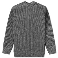 S.N.S. Herning Fang Rib Crew Knit Grey
