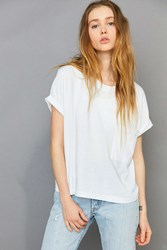 Hanes And Uo Pocket Crew Neck Tee 2 Pack Blue