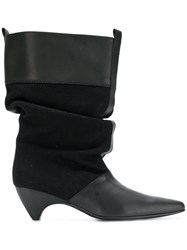 Stella Mccartney Slouchy Boots Black