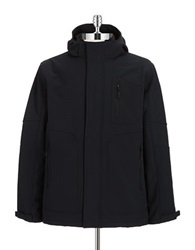 Hawke And Co Water Resistant 3 In 1 Jacket Black