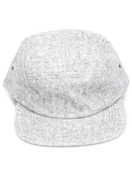 John Elliott 5 Panel Felt Cap Grey