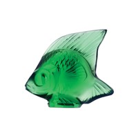 Lalique Fish Figure Emerald