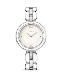 Fendi My Way Ceramic And Stainless Steel Watch 36Mm White